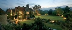 English Manor house with a cooking school and amazing gardens including a mushroom valley!