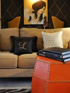 Tangerine Tango: Decorate With Pantone's 2012 Color of the Year | Color Palette and Schemes for Rooms in Your Home | HGTV