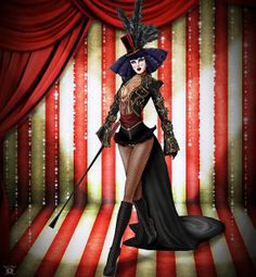 Ravishing Black Strapless Romper Ringmaster Circus Costume | Costumes Black and Halloween costumes & Ravishing Black Strapless Romper Ringmaster Circus Costume ...