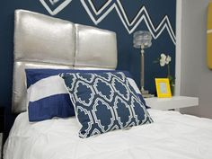 Jordan and Miera's Upholstered Headboards - HGTV Star How-Tos: Clever DIY Projects Inspired by the Show on HGTV