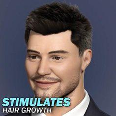 Hair Re-Activating Roller Hair And Beard Styles, Short Hair Styles, Mode Du Bikini, Hair Scalp, Hair Loss Treatment, Hair Health, Grow Hair, Haircuts For Men, Hair Removal