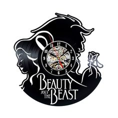 Check lastest price Beauty And The Beast Wall Art Home Decor Vinyl Record Clock just only $27.83 with free shipping worldwide  #clocks Plese click on picture to see our special price for you