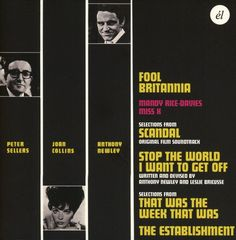 Anthony Newley/Peter Sellers - Fool Britannia / Scandal / Stop The World I Want T, Black