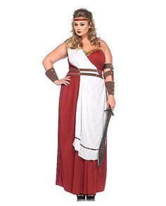 Spartan Goddess Plus Size Womens Costume - Spirithalloween.com