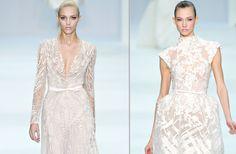 Gorgeous in white. Elie Saab.