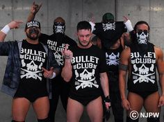 Finally got a bullet club shirt from @NJPWEurope