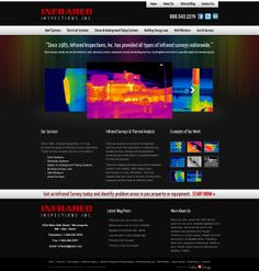 Get an Infrared survey today with Infrared Inspections Inc. They can help you identify problem areas in your area or equipment through thermal analysis. At Infrared Inspections Inc., they make scientific solutions more affordable. For more #webdesigns, visit us at www.customadesign.com