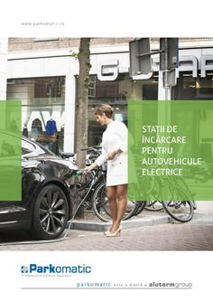 Toud created for Parkomatic, a major supplier of electric charging stations in Romania, a part of the presentation brochures. We enjoy publishing design a lot and are glad to get involved in any project of this kind. Electric Charging Stations, Brochures, Romania, Design Projects, Magazines, Catalog, Presentation, Electric Vehicle, Digital