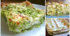 Lasagne zucchine e stracchino. Scopri la nostra ricetta.