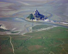 Le Mont Saint Michel (reloaded) by El Guanche, via Flickr