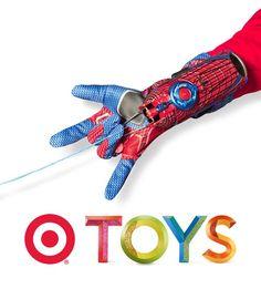 Spiderman web- shooter