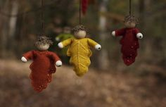 Autumn Oak Fairies. Emerson Waldorf School Holiday Faire ~ Chapel Hill, NC ~ November 23, 2013