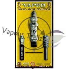 Vapour Trailz-Vaporizer Outlet - Micro Vaped Nectar Collector , $128.99 (http://www.endlessbargainsblvd.com/micro-vaped-nectar-collector/)1 Micro Nectar Collector w/ titantium heat element 1 Micro Vaped v3 Lithium-Ion Battery 1 Threaded GR2 Titanium Tip with cover 1 Glass Chamber attachment 1 Glass Dish 1 Mini USB charger 1 Wall charger adaptor 1 Fill tool 1 Soft carrying case 1 Vaped stand 1 Year warranty card