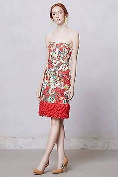 f3fa131574f6 Anthropologie - Luisa Poppy Dress - I know there's red on it, but I love
