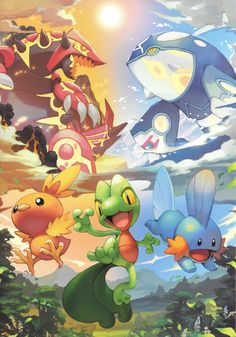 Pokémon Scans from PacificPikachu's Collection