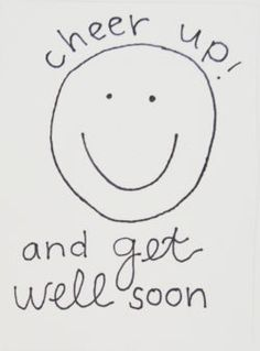get well soon gift and card ideas- cheer-up-and-get-well-soon