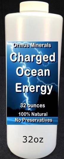 Charged Ocean Energy Liquid Ormus 32 oz