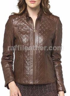 Jaket Kulit Wanita » Jaket Kulit Wanita RFW 252 • www.raffileather.com Jual Jaket Kulit Asli Garut Murah & Berkualitas #jaketkulit