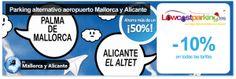 LowCostParking.es, tu parking alternativo en los aeropuertos de Mallorca y Alicante - descuento 10%