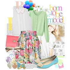 spring 2012 -- florals and pastels