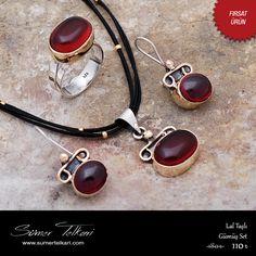 Lal Taşlı Gümüş Set  https://www.sumertelkari.com/urun/lal-tasli-tasarim-elisi-gumus-set-1755  #sumertelkari #gumusset #elyapimi #indirim #hediyelik #alisveris #moda #lal #ucluset #laltasi