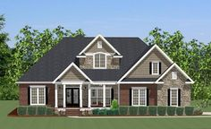 Mill Creek House Plan 6276 - 4 Bedrooms and 2.5 Baths | The House Designers