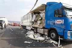 A7 nach Unfall ab Werratalbrücke Richtung Süden gesperrt