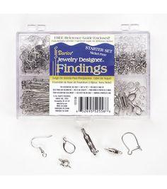 Finding Starter Set, Nickel Free, Silver
