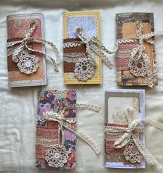 Excited to share this item from my shop: Traveler's Notebook kit - Junk Journal Style, Junk Journal ephemera, Junk Journal with ephemera, junk Journal fall, Junk Journal kit Journal Cards, Junk Journal, Journal Ideas, Small Journal, Glue Book, Music Paper, Journal Covers, Travelers Notebook, Stickers