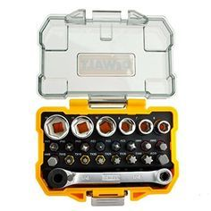 DeWalt DT71516-QZ 1/4-Inch Socket and Screwdriver Set (24... https://www.amazon.co.uk/dp/B00KBLIUPK/ref=cm_sw_r_pi_dp_x_aaEfybC74NN4A