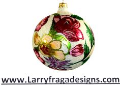 """Flowers for Fran."" Available from: www.larryfragadesigns.com"