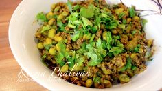 Keema Phalli, Qeema Phali, Urdu/Punjabi: کیما پليا Hindi: कीमा फलियां A Simple recipe of mince with green beans turns out great. Do try we know you will like it.