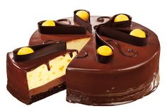 This is Red Ribbon's way of making a very special occasion like Christmas be extraordinary- Chocolate Mango Mousse Cake. It is made with a layer of creamy mango mouse with juicy mango bits on top of silky chocolate mousse and moist chocolate pound cake and generously embraced with chocolate ganache. As a finale, mango scoops …
