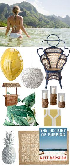 Beach Bohemian Home Inspiration. Wow that chair!!