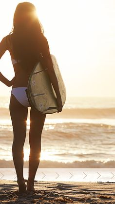 ↑↑TAP AND GET THE FREE APP! Lockscreens Art Creative Sea Sky Water Summer Vacation Girl Beach Surf HD iPhone 5 Lock Screen