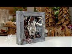 Houten spiegel met droogmaterialen decoreren door Romeo Sommers - YouTube