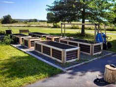 Extremely detailed plan for no-water raised beds. Includes drawn plans and…