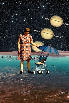 Cosmic Stroll by Eugenia Loli, via Flickr