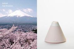 Volcano Series / Humidifier by Dae-hoo Kim, via Behance