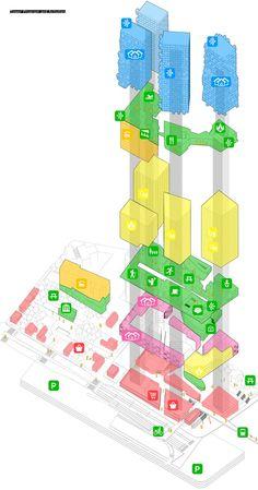 Gallery of Kimmel Eshkolot Architects Wins Competition for Masterplan in Tel Aviv - 15