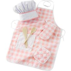 KidKraft Tasty Treats Chef Accessory Set, Pink with 6 Pieces - Walmart.com