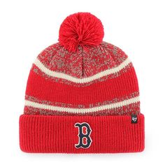 254bd58baff Boston Red Sox 47 Brand Fairfax Red Cuff Knit Hat