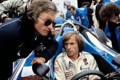 Jacques Laffite with Gerard Ducarouge