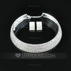 Jewelry - $21.99 - Shining Alloy With Rhinestone Ladies' Jewelry Sets (011028971) http://jjshouse.com/Shining-Alloy-With-Rhinestone-Ladies-Jewelry-Sets-011028971-g28971
