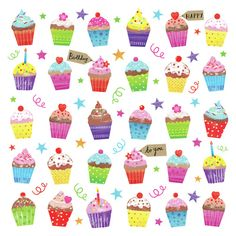 Joanne Cave   Advocate Art Happy Birthday Floral, Happy Birthday Wishes, Jim Mitchell, Paperchase, Santa And Reindeer, Birthday Images, Birthday Cupcakes, Seville, Make A Wish