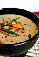 Sandra's Easy Cooking: Shrimp Coconut Soup with Shiitake Mushrooms