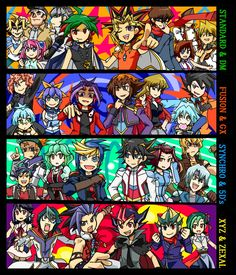 Pixiv Id 425789, Yu-Gi-Oh!, Yu-Gi-Oh! 5D's, Yu-Gi-Oh! ARC-V, Yu-Gi-Oh! ZEXAL, Yu-Gi-Oh! Duel Monsters