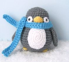 Amigurumi Crochet Penguin Pattern Digital Download par AmyGaines
