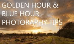 Blue hour and Golden hour photography tips – Discover Digital Photography.discoverdigit… - Blue hour and Golden hour photography tips Photography Lessons, Photoshop Photography, Camera Photography, Light Photography, Photography Tutorials, Photography Business, Digital Photography, Landscape Photography, Sunrise Photography
