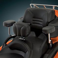 CAN AM SPYDER PASSENGER ARMRESTS - DELUXE ARMREST SYSTEM FOR CAN AM SPYDER RT - EXCLUSIVE DEAL! BUY NOW ONLY $265.95